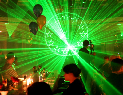 Зарабатываем под лазерное шоу