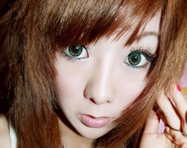 Глаза в пол-лица. Это сексуальное аниме