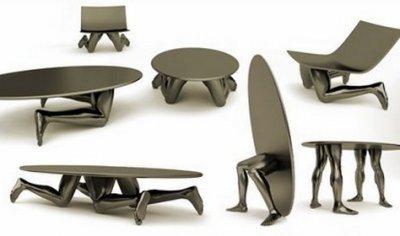 Бизнес идея: мебель в форме частей тела