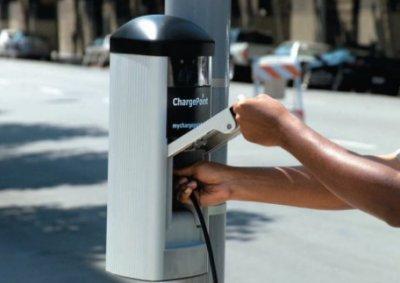 Заправки для электрических автомобилей