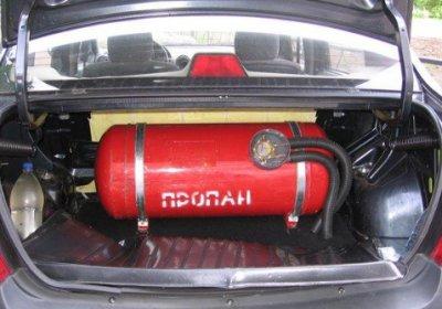 Перевод автомобилей на газовое топливо