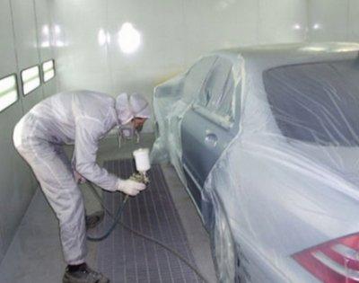 Покраска автомобилей в камере собственного производства