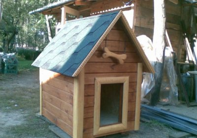 Изготовление будок и вольеров для собак